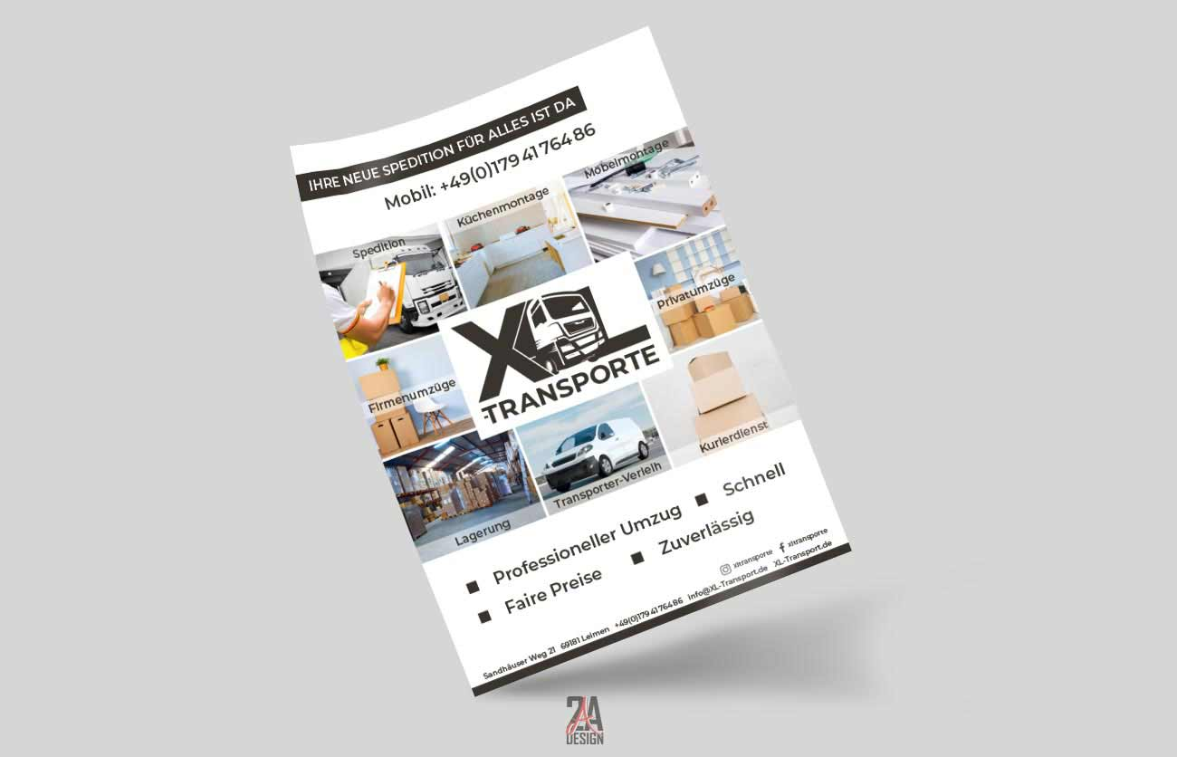 Flyer - XL-Transporte